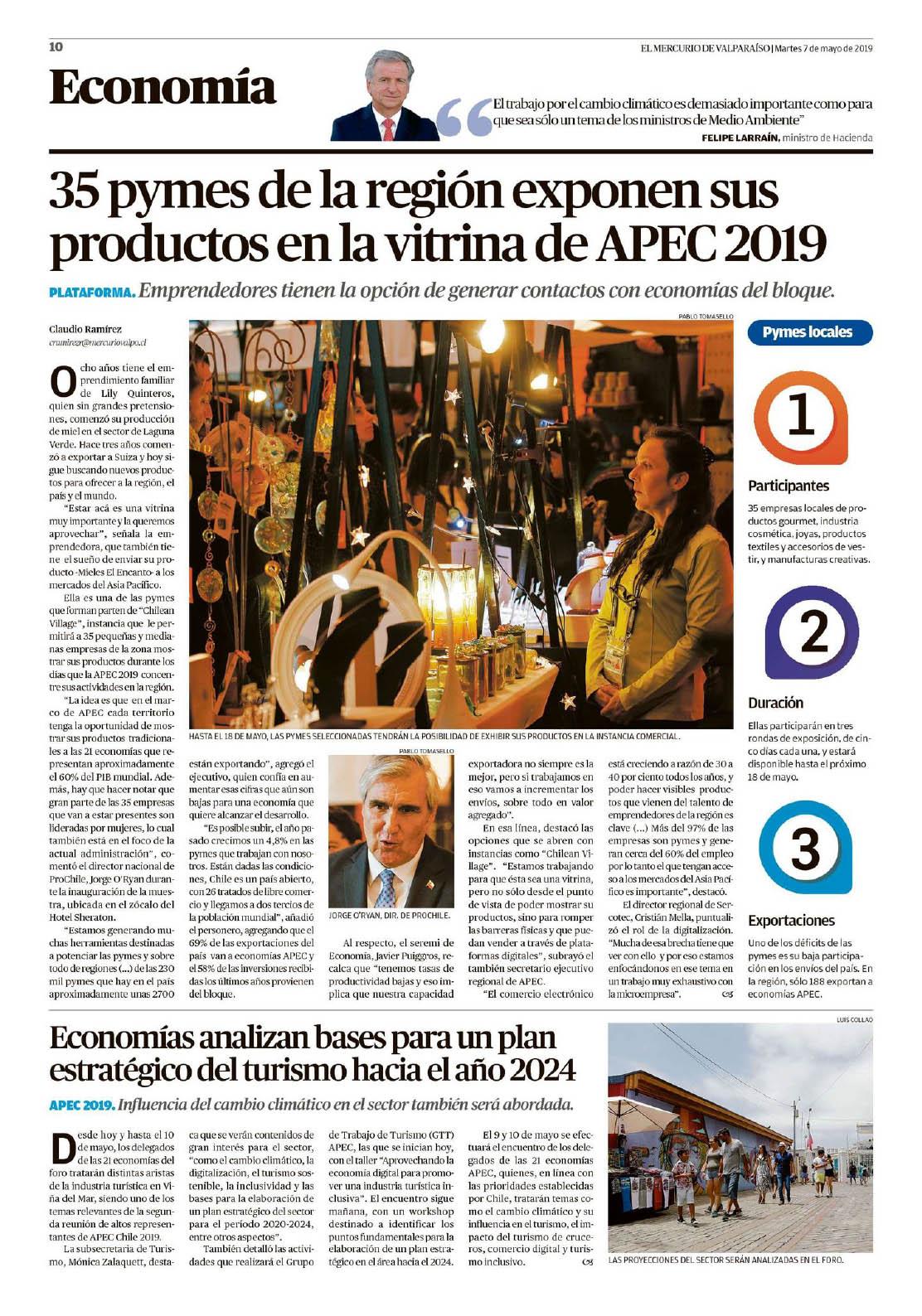 El Mercurio Valparaíso -9-5-2019