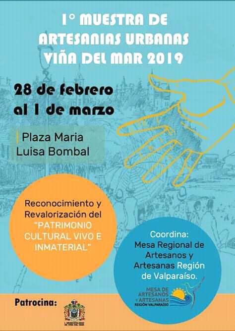 1ª Muestra de Artesanías Viña del Mar 2019